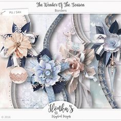 "It's Christmas time with this new collection by Ilonka's Scrapbook Designs called ""The Wonder Of The Season.  This collection is elegant and soft in blue, lilac and pink.  http://www.digiscrapbooking.ch/shop/index.php?main_page=index&manufacturers_id=131&zenid=505e549644797992fb6f20f38872706b  http://www.godigitalscrapbooking.com/shop/index.php?main_page=index&manufacturers_id=123  http://withlovestudio.net/shop/index.php?main_page=index&manufacturers_id=102"