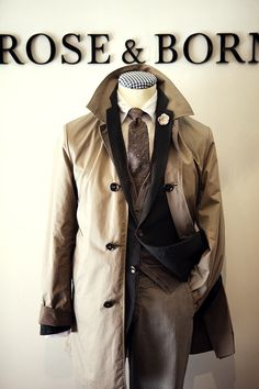 gorgeous mens outerwear  with day look.