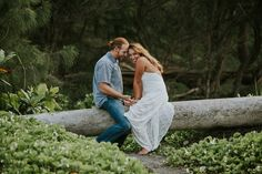 """Hawaii Engagement  """"Love at First Hike"""" Pololu Valley #hawaiiengagement"""