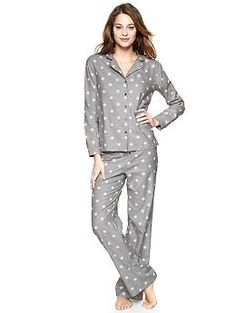 Flannel PJ set | Gap $49.95    Love the PJs, but feel like that's a little high for Gap quality