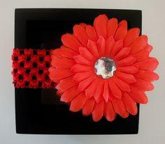 Monthly Special! Baby & Child Flower Crochet Headband ~ Sale Price!