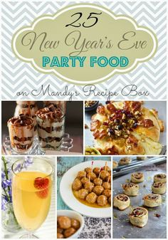 25 New Year's Eve Party Food