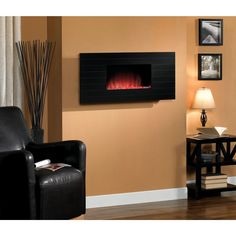Classic Flame Serenity Wall Hanging Electric Fireplace - 35HF500ARA-05