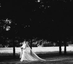 Our wedding at Clackamas River Farm in Oregon. Photo captured by Aaron Courter. Veil by The Mantilla Company.