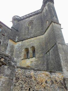 Chateau de Biron. Dordogne, France