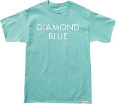 Diamond Blue T-Shirt - now available at Warehouse Skateboards! #whskate #spring2015 #skateboarding