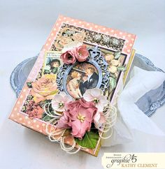 Love Sweet Love Altered Truffle Box Tutorial A Ladies Diary by Kathy Clement Product by Graphic 45 Photo 4 Truffle Boxes, Diy Gift Box, Try Something New, Heartfelt Creations, Graphic 45, Love Is Sweet, Mini Albums, Embellishments, Shabby Chic