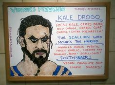 The only thing more delicious than Khal Drogo? Kale Drogo.