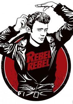"""""""Rebel Rebel"""" print by Marcos Torres"""