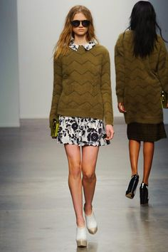 Karen Walker Fall 2013 RTW Collection - Fashion on TheCut