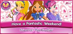 It's the weekend and time to do fun stuff like playing #WinxFairySchool 24/7! Friend us and check out our dorm!