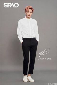 Chanyeol - 160908 SPAO weibo update Credit: SPAO.