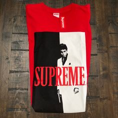 Other - NWT 🔥SUPREME/SCARFACE T-SHIRT MENS SIZE LARGE