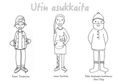 Utin asukkaita värityskuva Memes, Pictures, Art, Photos, Art Background, Meme, Kunst, Performing Arts, Grimm