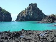 Porco´s Bay - Fernando de Noronha Island - Brazil Mother Nature, Seas, Water, Pictures, Blue, Outdoor, Image, Pigs, Wonderful Places