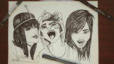 Desenho finalizado HORA DA AVENTURA 2016