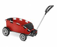 """Puky Bolderkar H25. In de stad, waar de afstanden korter zijn, blijft de auto tegenwoordig steeds vaker stilstaan. Om flexibel te zijn en het milieu te ontzien, al is het alleen maar om boodschappen te doen of een ritje naar een speeltuin te maken heeft PUKY® de innovatieve bolderwagen """"H 25 ceety®"""" ontwikkeld. Voor meer info kijk hier http://www.speelgoedbaai.nl/shop/puky-bolderkar-h25-ceety-rood-zilver.html"""