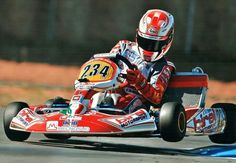 Birel kart flying