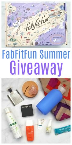 FabFitFun Summer 2017 Box Review & Giveaway! Over $270 in lifestyle products!