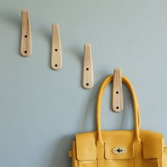 Curved Wooden Coat Hook