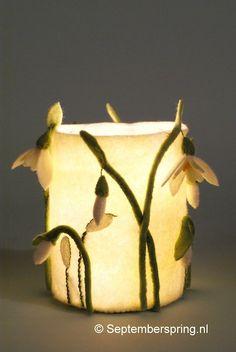 Lichtje met Sneeuwklokjes - patroonblad Septemberspring