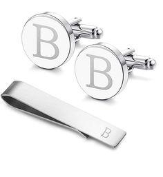 Letter Y Wooden Engraving Mens Tie Clip Tack Bar