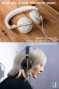 #Music lovers take note! Noise isolation and a fully-balanced sound profile lets you experience a superior sound richness, with soft vegan leather, a three-axis pivot and a low-compression fit that creates consistent comfort. Discover more top-of-the-line accessories on AHAlife.com