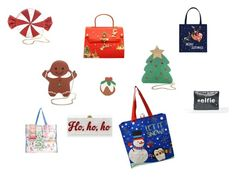 """""""Christmas Bags"""" by saffron-rose on Polyvore featuring Carlo Zini, True Craft, Forever 21, VALERY and Edie Parker"""