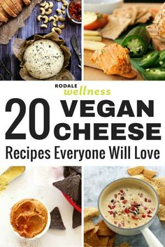 20 vegan cheese recipes that everyone will love. #vegan