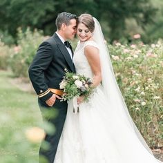 Get ready, this wedding will give you chills. The Virginia rose garden wedding couldn't be more classic or intimate.
