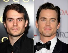 Henry Cavill and Matt Bomer - 30 celebrities so incredibly similar that they look like they were separated at birth