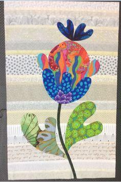 Flower Garden, Kim McLean - Block 14 (Laila Nelson)