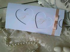 Partecipazione matrimonio cuore