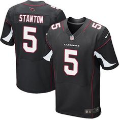 Nike Elite Drew Stanton Black Men s Jersey - Arizona Cardinals  5 NFL  Alternate 30ed6c3b6