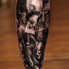 One of our favorites from @matthewjamestattoo