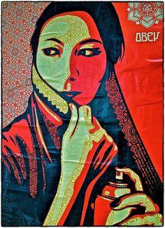 Streetart, by Kenneth r Rowley, via 500px