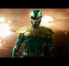 Badass Green Ranger concept