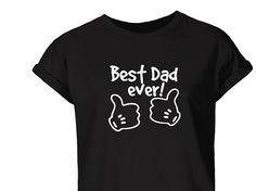Sales! Fathers Day, Best Dad T-Shirt, Best Daddy Top, Fathers Day Gift, Mens Tops, Gifts For Men, Best Dad Gift #FathersDayGift #GiftsForMen #MensTops #BestDadGift #FathersDay #ManAdultTop #BestDaddyTShirt #BestGiftForHim #MatchingParentKid #BestDaddyTop