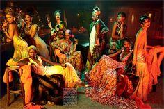 """Vogue Italia's """"Black Allure"""" Photoshoot"""