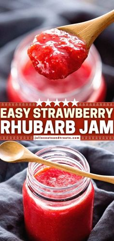 The perfect spring breakfast idea! Anyone can make this quick and easy Strawberry Rhubarb Jam that has been lightened up. Using just 3 ingredients, you can have it ready for the fridge or freezer in… More