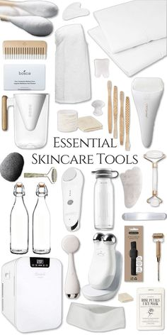 Skincare Tools and How to Use them to achieve better skin Glass Skin S. , Essential Skincare Tools and How to Use them to achieve better skin Glass Skin S. , Essential Skincare Tools and How to Use them to achieve better skin Glass Skin S. True Beauty, Beauty Care, Beauty Skin, Beauty Hacks, Beauty Guide, Beauty Trends, Beauty Ideas, Beauty Makeup, Korean Beauty Tips