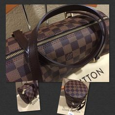 """Authentic Louis Vuitton Papillon 26 Damier This is a brand new Papillion 26 Damier canvas approx 10.5""""x 6"""", handle drop 4"""" beautiful piece. Authenticity guaranteed. Dust bag included. Item comes from a smoke/pet free home. Louis Vuitton Bags Satchels"""