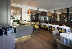 The New Angel restaurant from John Burton-race Notting Hill