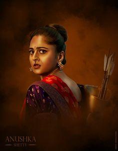 Baahubali 2 - Anushka Shetty as Princess who kicks serious ass