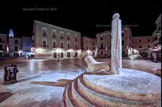 Column of the infamous - Bari