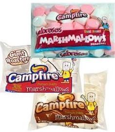 Best Campfire Giant Roasters Marshmallows Recipe on Pinterest