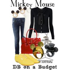 Mickey Mouse, created by lalakay on Polyvore