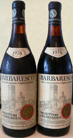 Produttori Barbaresco 1974