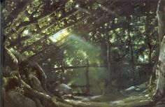 Ben Towle: Gorgeous background paintings from Princess...