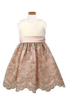 Kids Girls Ribboned Floral Maroon Wine Long Sleeved Bolero style Full Dress Set